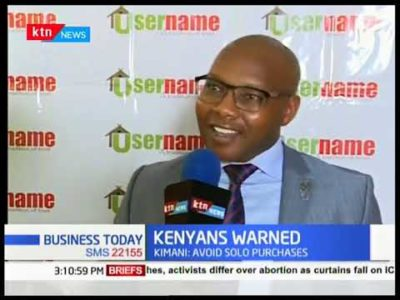 Username Funding Ltd. CEO Advises Kenyans to Buy Property By Respected Firms