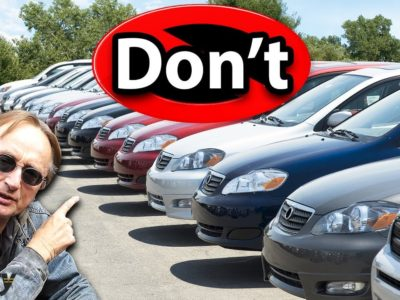 By no means Purchase a Used Automobile from the Dealership