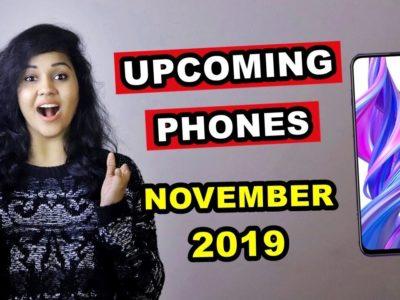 TOP 5 UPCOMING PHONES below ₹20,000 in NOVEMBER 2019