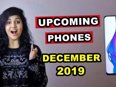 TOP 5 UPCOMING PHONES underneath 20,000 in DECEMBER 2019