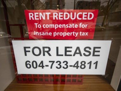 'Insane' property tax driving away Vancouver companies