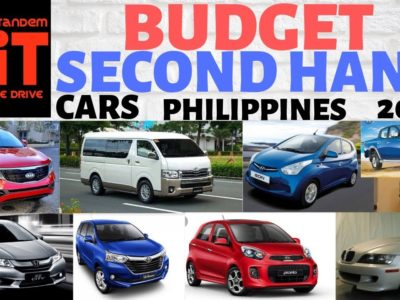 Price range Second Hand / Used Automobiles Philippines 2019