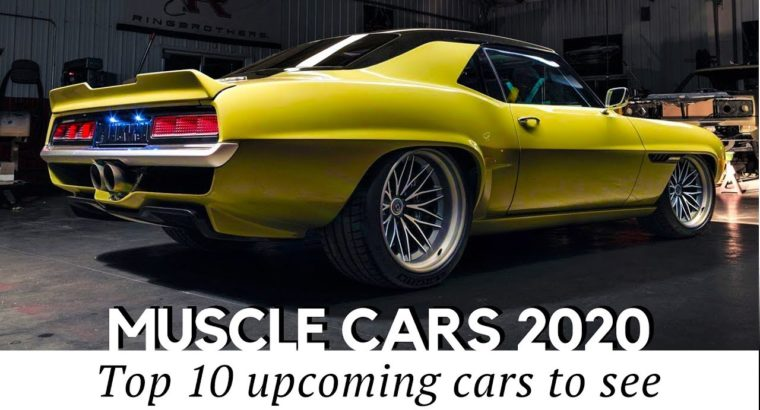 10 New Muscle Vehicles and Newest Restomods an Auto Fanatic Shouldn't Miss