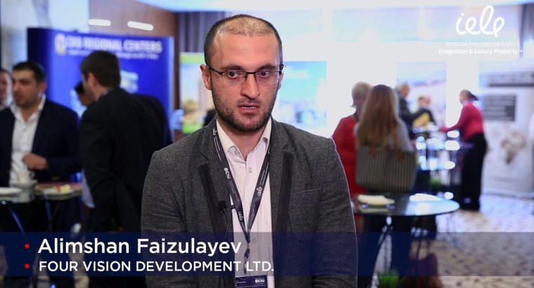 Alimshan Faizulayev (FOUR VISION DEVELOPMENT LTD) — Moscow IELP Expo 2018