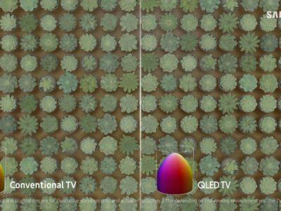 Samsung Electronics – TV – Why QLED TV New Metallic Quantum Dot Colours Defined