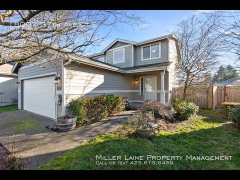 Tacoma Properties for Lease 3BR/2.5BA by Tacoma Property Supervisor