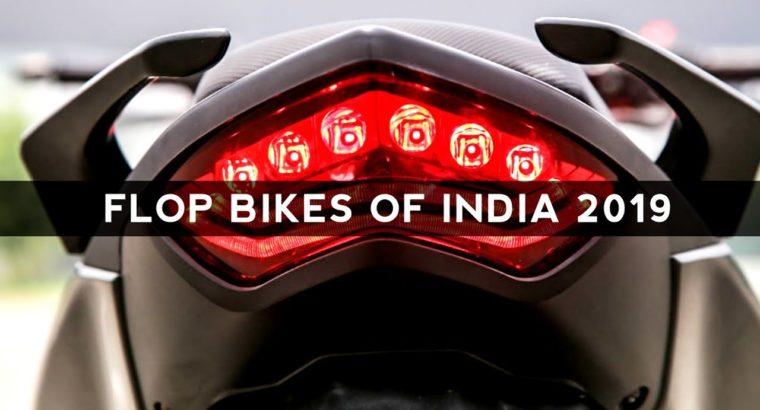 Prime 10 Flop Bikes of India 2019   Auto Gyann