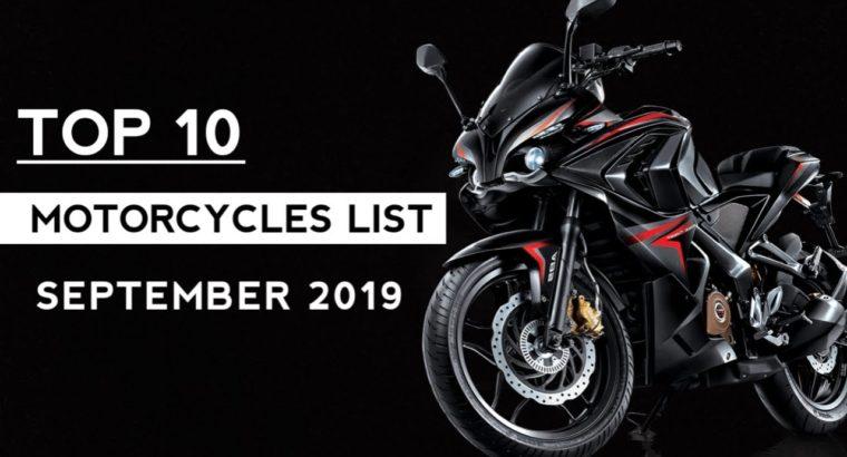 High 10 Promoting Bikes September 2019   Auto Gyann
