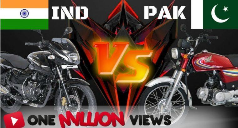 High 5 Most Promoting Bike INDIA VS PAKISTAN