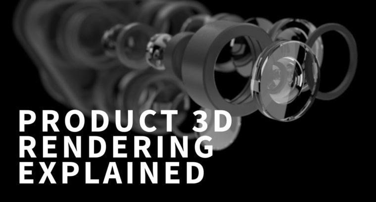 What's Product 3D Rendering – Course of Defined by CGI Artist
