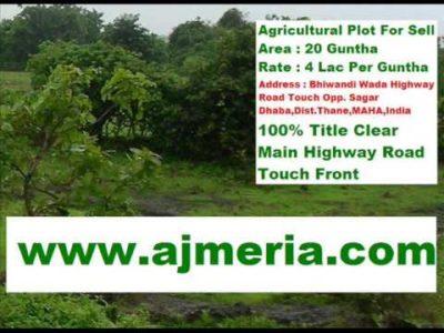 Property least expensive land india maharashtra thane bhiwandi