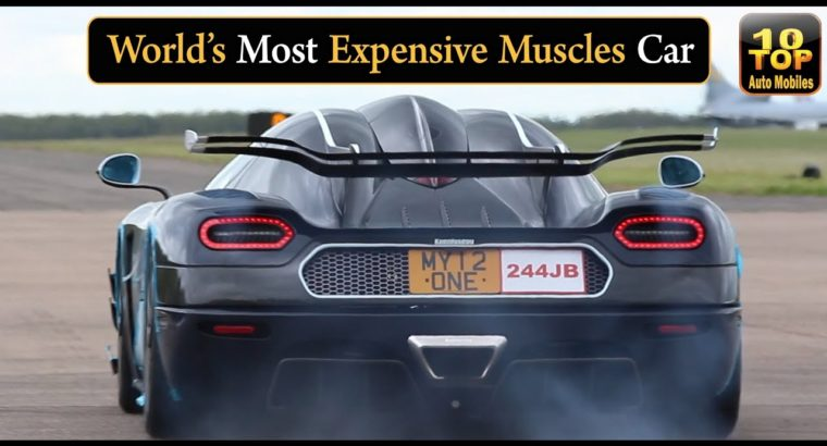 Prime 10 Most Costly Muscle Vehicles In The World  Newest Fashions