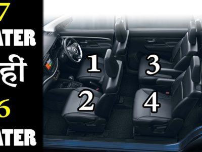 Prime 5 Finest 6-Seater Vehicles in India 2019 (In Hindi)