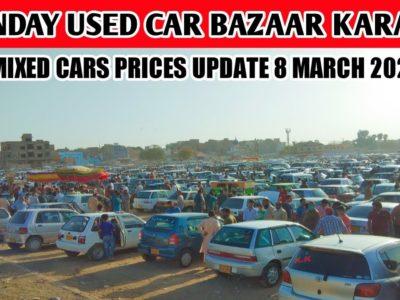 Karachi Used Automotive Bazaar  Sunday Vehicles Market eight March 2020 Newest Replace  Revenue World