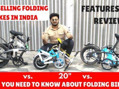 """Folding Bikes 26"""" vs 20"""" vs 12""""   Folding Bikes India – Hindi   Finest Promoting Folding Bikes"""