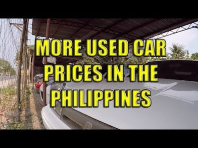 Extra Used Automobile Costs In The Philippines.