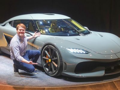 New KOENIGSEGG GEMERA with Christian von Koenigsegg! | FIRST LOOK