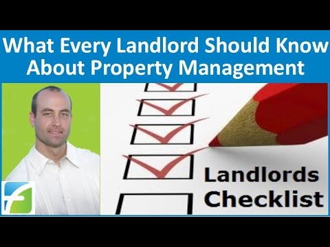 What Each Landlord Ought to Know About Property Administration