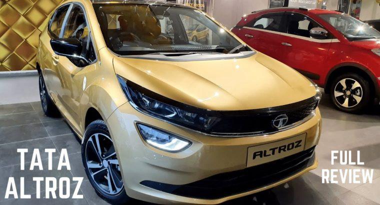 2020 Tata Altroz XZ Premium Hatchback Full Detailed Evaluation – Newest Options, Premium Interiors