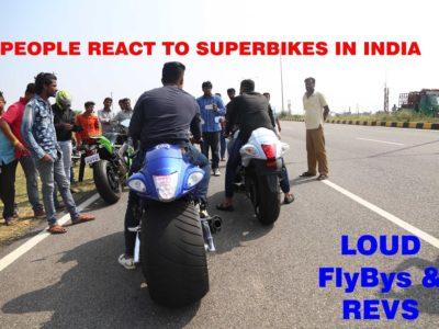 Superbike Reactions In INDIA – Mysore/BikersIN