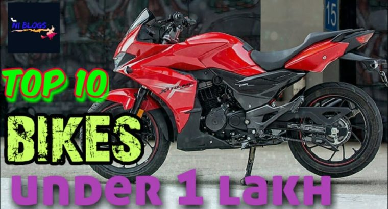 prime 10 finest bikes underneath 1 lakh in india❤❤