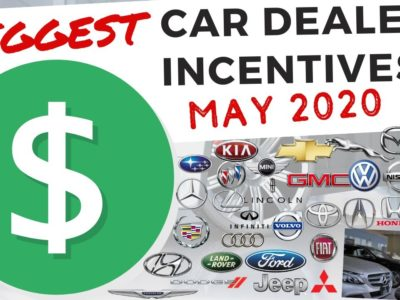 Greatest New Automobile Worth Seller Incentives for Could 2020 (Have Coronavirus Reductions Arrived?)