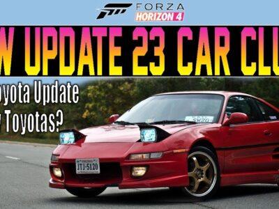Forza Horizon 4 – NEW 'Replace 23' Automobile Clues! – Four New Toyotas & Extra!