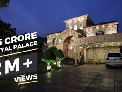 Royal Palace for Sale in Mannequin City Lahore l  Worth: 45 Crore