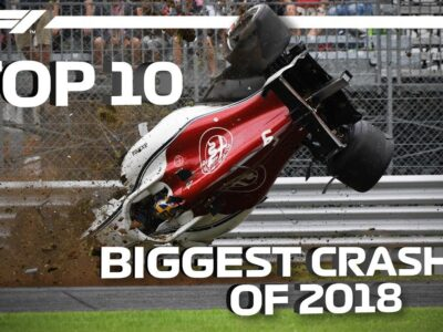 Prime 10 Greatest Crashes of 2018
