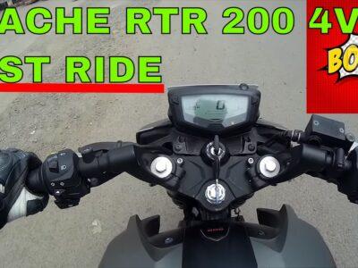 TVS Apache RTR 200 4V : Check Experience : Finest Bikes beneath 1 Lakh