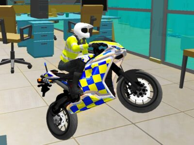 Workplace Bike Driving Simulator – Police Motorbikes – Android Gameplay FHD – Bikes For Youngsters Video games