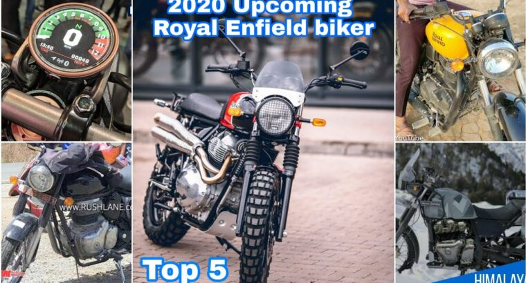 2020 Upcoming Royal Enfield Bikes   High 5 Royal Enfield Bikes 2020   Wealthy India Moto