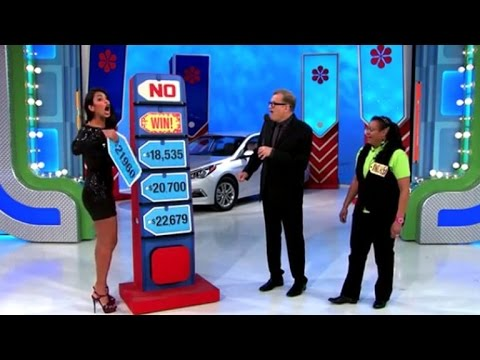 'Value Is Proper' Mannequin By accident Provides Away a Automotive to Contestant!