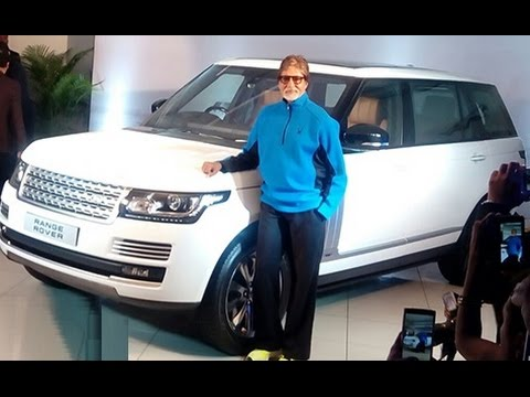 Amitabh Bachchan Receives Newest Automotive Vary Rover Autobiography LWB