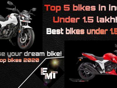 BEST BIKES UNDER 1 LAKH   TOP 5 BIKES AROUND 1L   160CC  greatest bikes in india  TAMIL   emt  