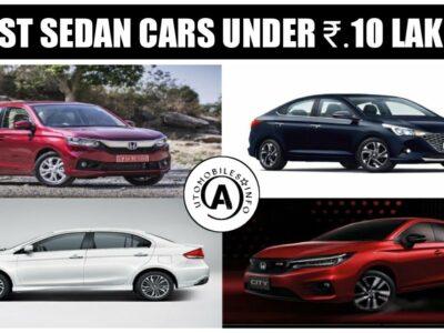 Greatest Sedans Beneath ₹.10 Lakhs In India   Greatest Vehicles   Cars Data