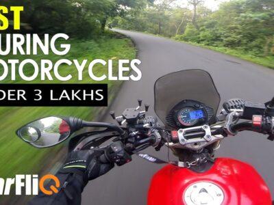 Greatest Touring Bikes Below three Lakhs | Hindi | GearFliQ