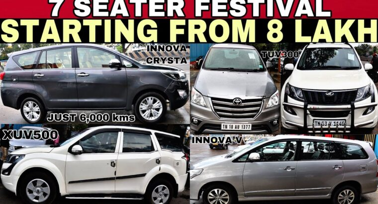 INNOVA FESTIVAL | LOW PRICE 7 SEATER USED CARS FOR SALE IN CHENNAI | PreOwned Vehicles Sale In TamilNadu