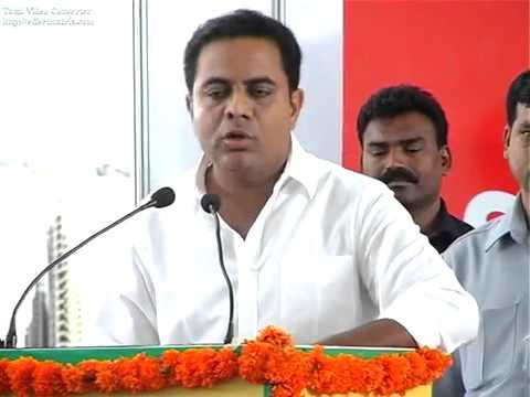 KTR Inaugural speech @ India Property Expo