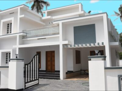 Fashionable villa on the market close to Cochin Airport   Villa in Ernakulam   1,800 sq ft in 7 cents plot