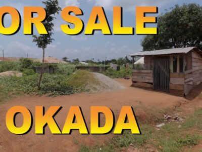 PROPERTY FOR SALE AT OKADA EDO STATE, NIGERIA.