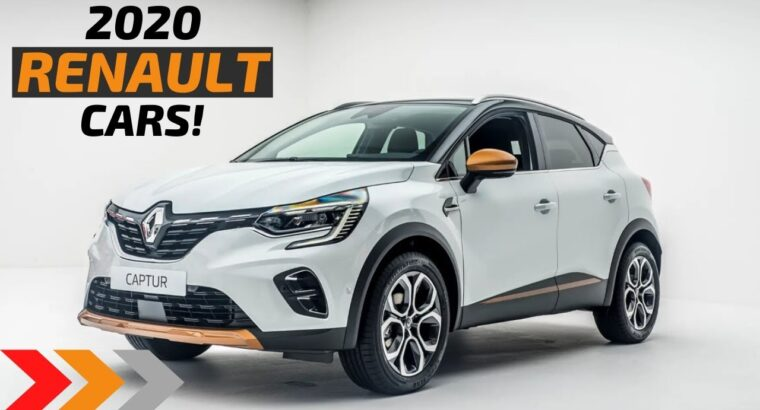 Renault Upcoming Vehicles In India 2020: NEW RENAULT CARS 2020