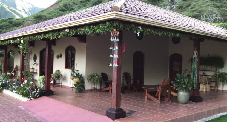 [SOLD] Beautiful Residence in Vilcabamba For Sale – Actual Property in Ecuador
