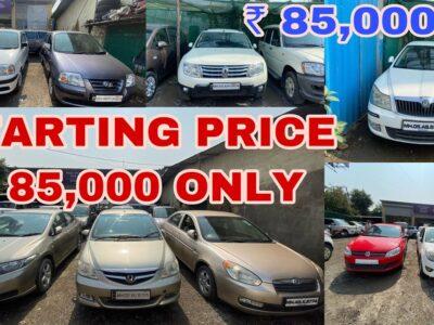 Beginning ₹ 85,000 Used Vehicles For Sale Honda, Skoda, Tata, Renault, Chevrolet, Hyundai | Fahad Munshi
