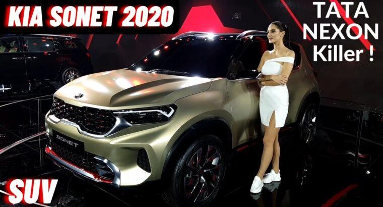 2020 Kia Sonet Premium SUV India – Variants, Options, Value, Interiors   Kia Sonet 2020   Nexon SUV