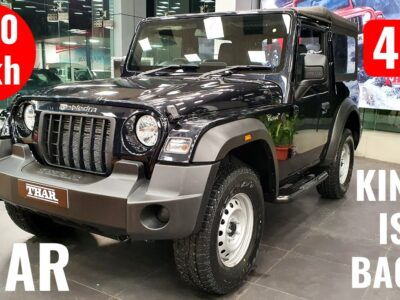 2020 Mahindra Thar 6-Seater Off-Street SUV Launched – On-Street Worth, Interiors, Options   Thar 2020