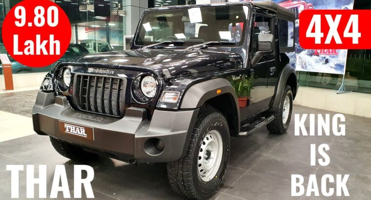2020 Mahindra Thar 6-Seater Off-Street SUV Launched – On-Street Worth, Interiors, Options | Thar 2020