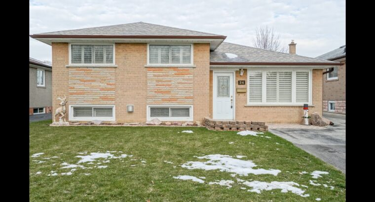 24 Cambridge Crescent, Brampton House for Sale – Actual Property Properties for Sale