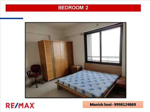Three BHK Furnished House for Sale in Magnolia Residency, Jodhpur, Ahmedabad, India