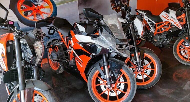 BS4 KTM Bikes New Worth record
